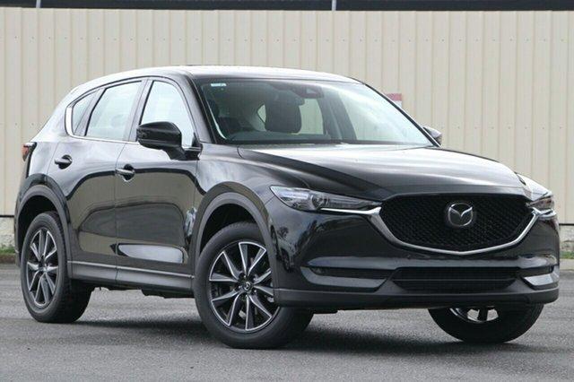 New Mazda CX-5 KF4WLA Akera SKYACTIV-Drive i-ACTIV AWD, 2019 Mazda CX-5 KF4WLA Akera SKYACTIV-Drive i-ACTIV AWD Jet Black 6 Speed Sports Automatic Wagon