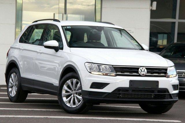 New Volkswagen Tiguan 5N MY20 110TSI DSG 2WD Trendline, 2020 Volkswagen Tiguan 5N MY20 110TSI DSG 2WD Trendline White 6 Speed Sports Automatic Dual Clutch