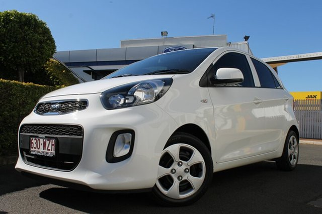 Used Kia Picanto TA MY17 SI, 2016 Kia Picanto TA MY17 SI White 4 Speed Automatic Hatchback
