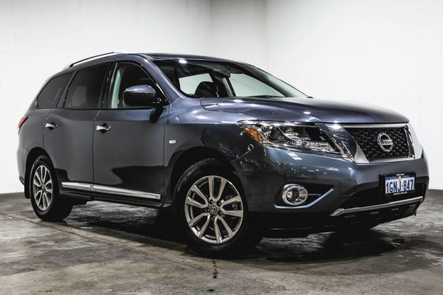 Used Nissan Pathfinder R52 MY14 ST-L X-tronic 4WD, 2013 Nissan Pathfinder R52 MY14 ST-L X-tronic 4WD Grey 1 Speed Constant Variable Wagon