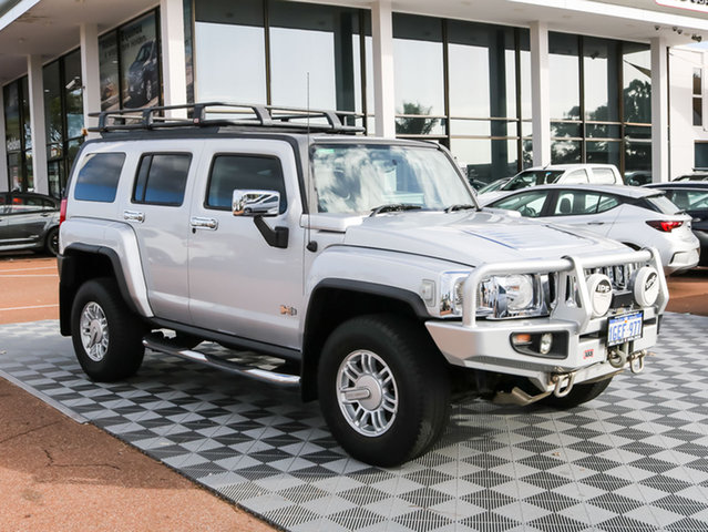 Used Hummer H3  Adventure, 2008 Hummer H3 Adventure Silver 4 Speed Automatic Wagon