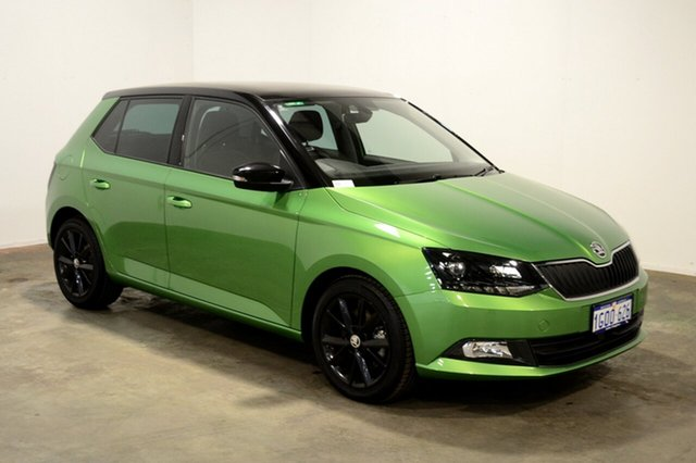 Used Skoda Fabia NJ MY17 81TSI DSG, 2017 Skoda Fabia NJ MY17 81TSI DSG Rally Green 7 Speed Sports Automatic Dual Clutch Hatchback