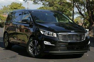 2019 Kia Carnival YP MY19 SLi Aurora Black 8 Speed Sports Automatic Wagon.