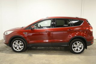 2015 Ford Kuga TF MY16 Trend PwrShift AWD Red 6 Speed Sports Automatic Dual Clutch Wagon.