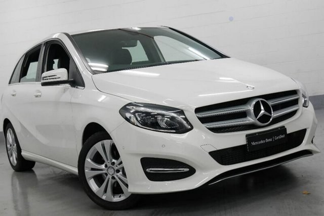Used Mercedes-Benz B200 W246 808+058MY DCT, 2017 Mercedes-Benz B200 W246 808+058MY DCT White 7 Speed Sports Automatic Dual Clutch Hatchback