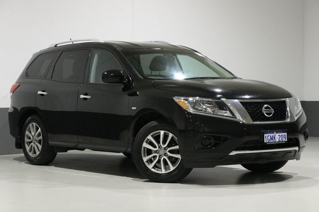 Used Nissan Pathfinder R52 ST (4x4), 2013 Nissan Pathfinder R52 ST (4x4) Black Continuous Variable Wagon