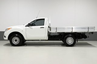 2015 Mazda BT-50 MY13 XT (4x4) White 6 Speed Manual Cab Chassis