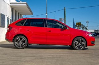 2017 Skoda Rapid NH Red Sports Automatic Dual Clutch Hatchback.