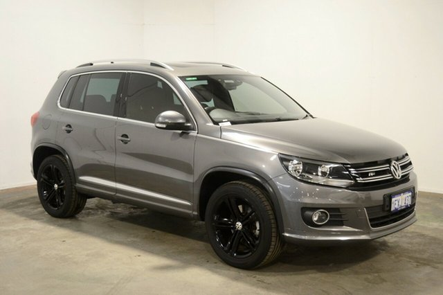 Used Volkswagen Tiguan 5N MY16 155TSI DSG 4MOTION R-Line, 2015 Volkswagen Tiguan 5N MY16 155TSI DSG 4MOTION R-Line Grey 7 Speed Sports Automatic Dual Clutch