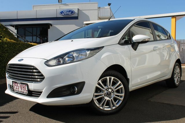 Used Ford Fiesta WZ Trend PwrShift, 2014 Ford Fiesta WZ Trend PwrShift White 6 Speed Sports Automatic Dual Clutch Hatchback