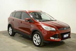 2015 Ford Kuga TF MY16 Trend PwrShift AWD Red 6 Speed Sports Automatic Dual Clutch Wagon