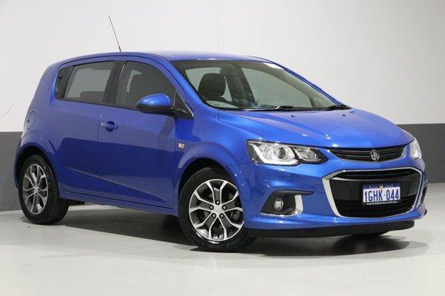 Used Holden Barina TM MY17 LS, 2017 Holden Barina TM MY17 LS Blue 6 Speed Automatic Hatchback