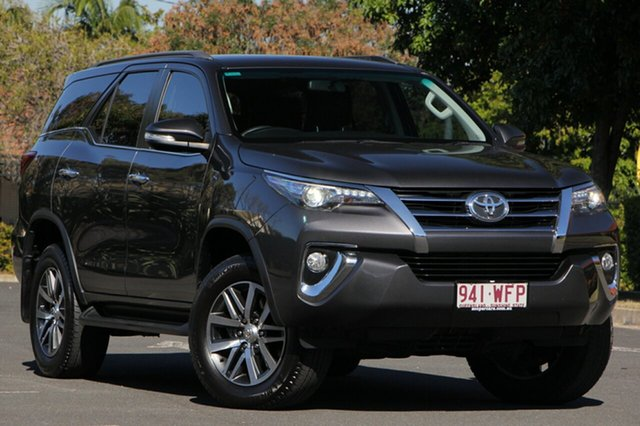 Used Toyota Fortuner GUN156R Crusade, 2016 Toyota Fortuner GUN156R Crusade Grey 6 Speed Automatic Wagon