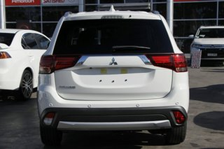 2018 Mitsubishi Outlander ZL MY18.5 LS 7 Seat (2WD) White Continuous Variable Wagon