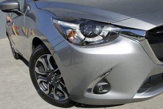 2018 Mazda 2 DJ2HAA Genki SKYACTIV-Drive Aluminium 6 Speed Sports Automatic Hatchback.