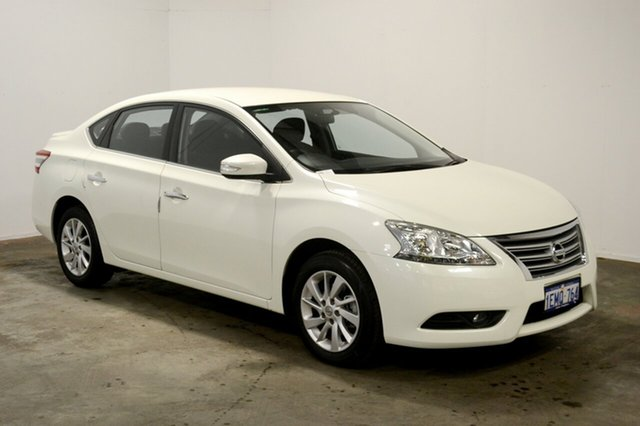 Used Nissan Pulsar B17 ST-L, 2014 Nissan Pulsar B17 ST-L White 1 Speed Constant Variable Sedan