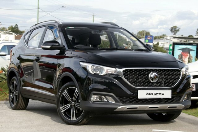 New MG ZS AZS1 Excite 2WD, 2018 MG ZS AZS1 Excite 2WD Pebble Black 4 Speed Automatic Wagon
