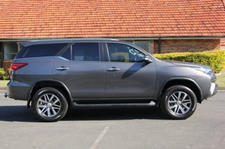 2016 Toyota Fortuner GUN156R Crusade Grey 6 Speed Automatic Wagon.