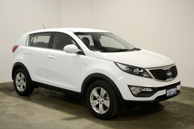 Used Kia Sportage SL Series II MY13 SI, 2014 Kia Sportage SL Series II MY13 SI Casa White 5 Speed Manual Wagon
