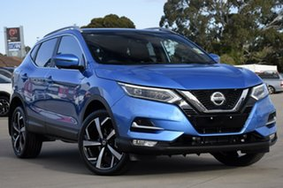 2021 Nissan Qashqai J11 Series 3 MY20 Ti X-tronic Vivid Blue 1 Speed Constant Variable Wagon.