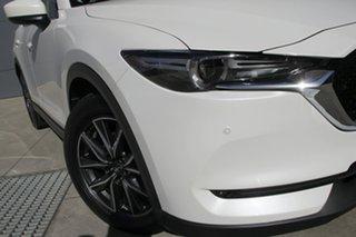 2018 Mazda CX-5 KF4W2A GT SKYACTIV-Drive i-ACTIV AWD Snowflake White 6 Speed Sports Automatic Wagon.