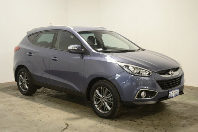 Used Hyundai ix35 LM3 MY14 Trophy AWD, 2014 Hyundai ix35 LM3 MY14 Trophy AWD Blue Berry 6 Speed Sports Automatic Wagon