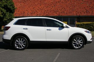 2013 Mazda CX-9 TB10A5 MY14 Luxury Activematic White 6 Speed Sports Automatic Wagon.