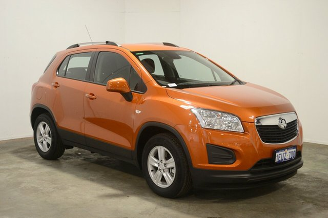 Used Holden Trax TJ MY15 LS, 2015 Holden Trax TJ MY15 LS Orange 6 Speed Automatic Wagon