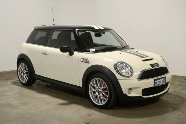 Used Mini Hatch R56 John Cooper Works, 2008 Mini Hatch R56 John Cooper Works White 6 Speed Manual Hatchback