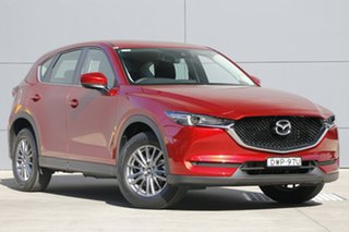 2018 Mazda CX-5 KF2W7A Maxx SKYACTIV-Drive FWD Sport Soul Red Crystal 6 Speed Sports Automatic Wagon.