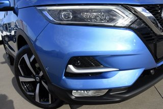 2021 Nissan Qashqai MY20 TI Vivid Blue Continuous Variable Wagon.