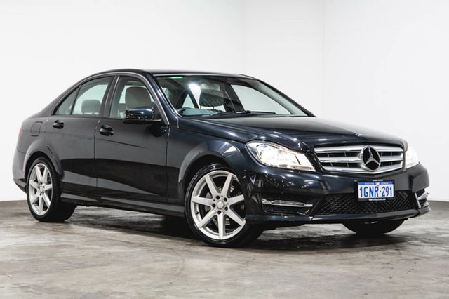 Used Mercedes-Benz C200 W204 MY13 7G-Tronic +, 2013 Mercedes-Benz C200 W204 MY13 7G-Tronic + Grey 7 Speed Sports Automatic Sedan