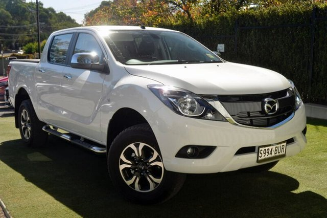 Demo Mazda BT-50 UR0YG1 XTR, 2018 Mazda BT-50 UR0YG1 XTR Cool White 6 Speed Manual Utility