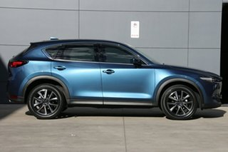2021 Mazda CX-5 KF4WLA GT SKYACTIV-Drive i-ACTIV AWD Eternal Blue 6 Speed Sports Automatic Wagon