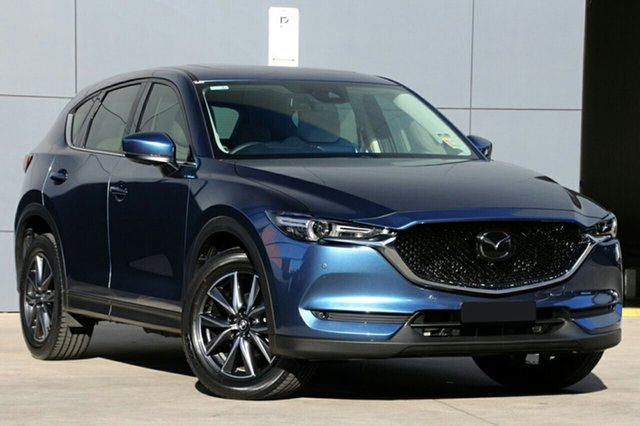 New Mazda CX-5 KF4WLA GT SKYACTIV-Drive i-ACTIV AWD, 2019 Mazda CX-5 KF4WLA GT SKYACTIV-Drive i-ACTIV AWD Eternal Blue 6 Speed Sports Automatic Wagon