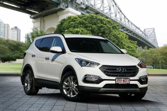 Used Hyundai Santa Fe DM3 MY16 Elite, 2015 Hyundai Santa Fe DM3 MY16 Elite White 6 Speed Sports Automatic Wagon