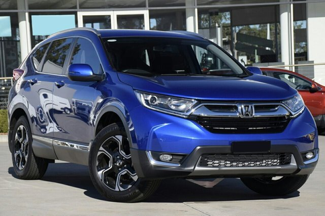 New Honda CR-V RW MY20 VTi-S 4WD, 2019 Honda CR-V RW MY20 VTi-S 4WD Blue 1 Speed Constant Variable Wagon