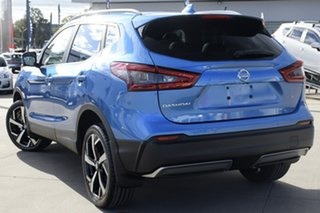 2021 Nissan Qashqai J11 Series 3 MY20 Ti X-tronic Vivid Blue 1 Speed Constant Variable Wagon