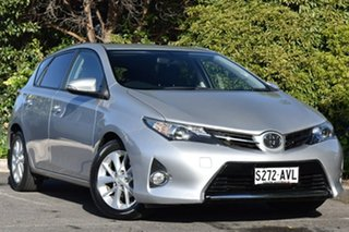 2012 Toyota Corolla ZRE182R Ascent Sport S-CVT Silver 7 Speed Constant Variable Hatchback.