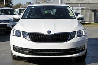 2020 Skoda Octavia NE MY20.5 110TSI DSG Moon White 7 Speed Sports Automatic Dual Clutch Wagon