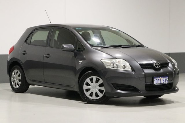 Used Toyota Corolla ZRE152R MY09 Ascent, 2009 Toyota Corolla ZRE152R MY09 Ascent Grey 6 Speed Manual Hatchback
