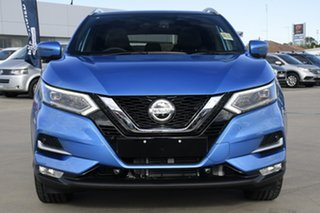 2021 Nissan Qashqai MY20 TI Vivid Blue Continuous Variable Wagon