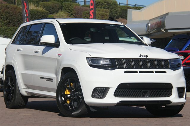 New Jeep Grand Cherokee WK MY18 Trackhawk, 2018 Jeep Grand Cherokee WK MY18 Trackhawk Bright White 8 Speed Sports Automatic Wagon