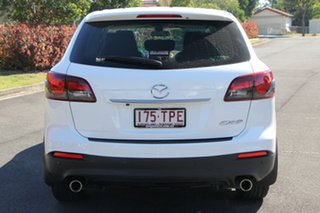 2013 Mazda CX-9 TB10A5 MY14 Luxury Activematic White 6 Speed Sports Automatic Wagon