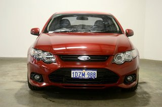 2012 Ford Falcon FG MkII XR6 Red 6 Speed Sports Automatic Sedan
