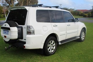 2012 Mitsubishi Pajero NW MY12 Platinum II White 5 Speed Sports Automatic Wagon