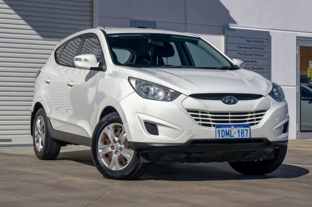 Used Hyundai ix35 LM Active, 2010 Hyundai ix35 LM Active White 6 Speed Sports Automatic Wagon