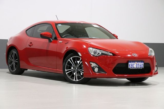 Used Toyota 86 ZN6 GT, 2012 Toyota 86 ZN6 GT Red 6 Speed Auto Sequential Coupe