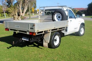 1999 Nissan Patrol GU DX White 5 Speed Manual Cab Chassis