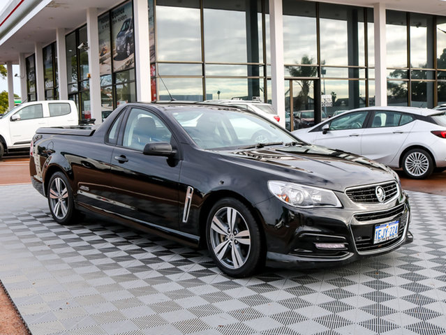 Used Holden Ute VF MY14 SS Ute, 2013 Holden Ute VF MY14 SS Ute Black 6 Speed Sports Automatic Utility